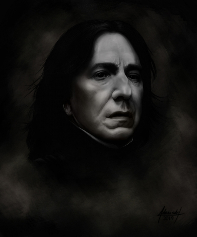 Alan Rickman by ADORINDIL